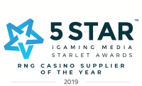 5 Star Awards 2019 - RNG Casino Supplier Of The Year