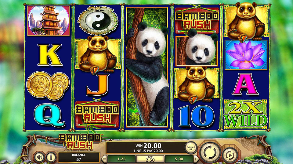 Bamboo Rush Main Game