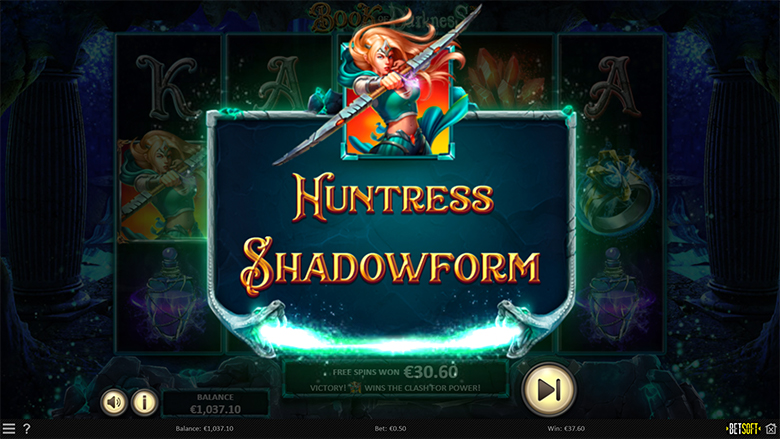 Betsoft et Blitz présentent Book of Darkness - The Shadowform