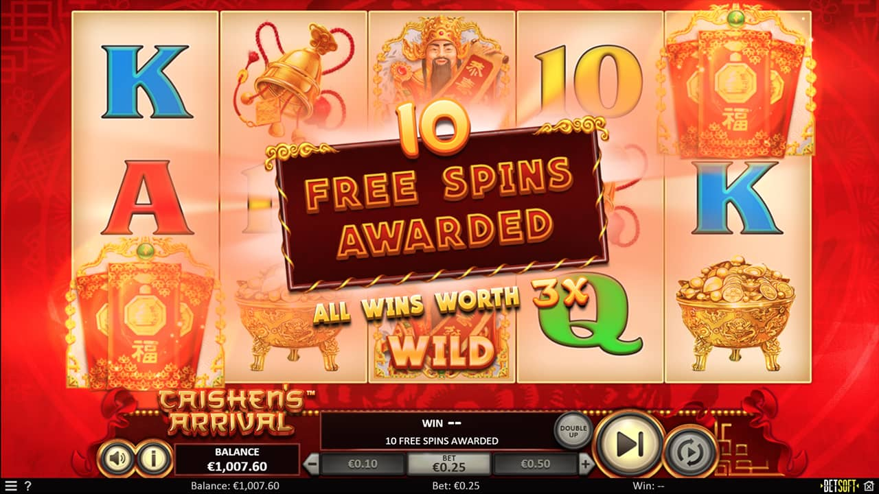 Caishen's Arrival - Free Spins
