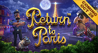 Return to Paris - Coming on 28th October