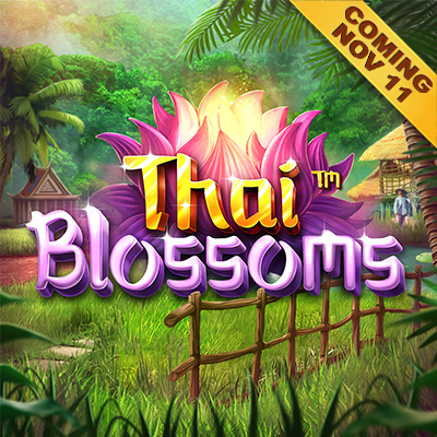 Thai Blossoms - Coming on 11th November