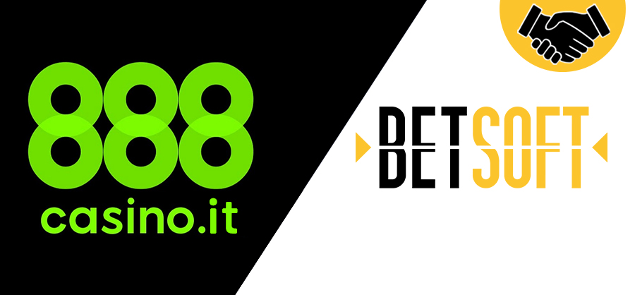 Betsoft Gaming and 888casino.it go live in Italy