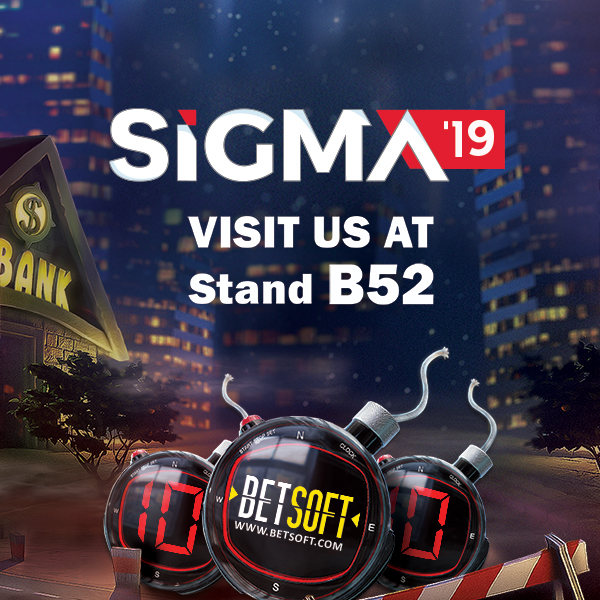 SIGMA 2019 - Visit Us at Stand #B52