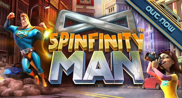 Spinfinity Man - Out Now