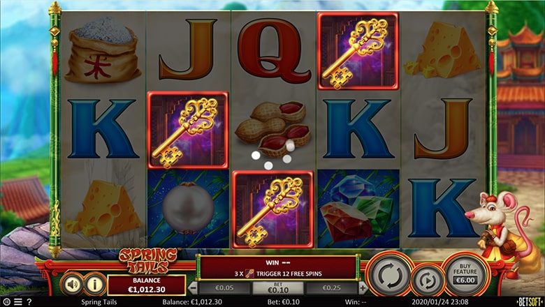 Spring Tails - Golden Key Free Spins