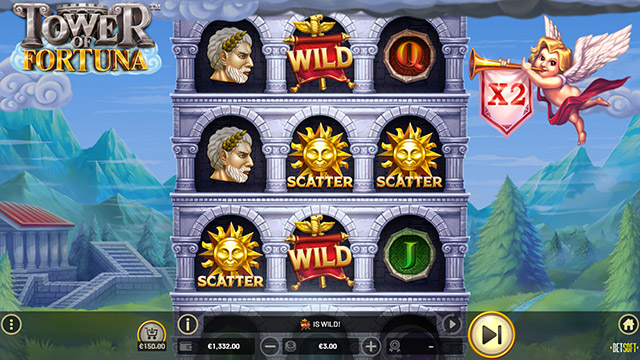 Tower of Fortuna - Fortuna's free spins