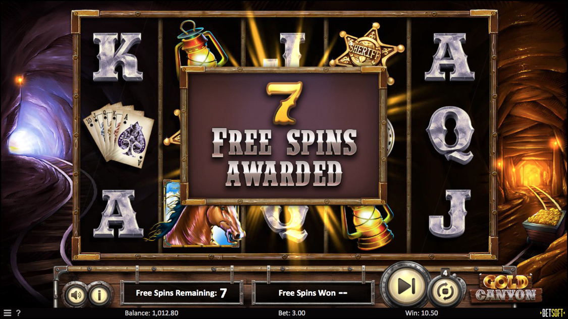 Free Spins Screenshot